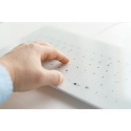 Cleankeys® CK4 Glass Keyboard